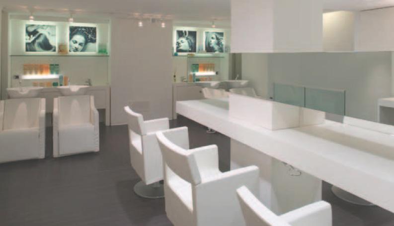 INTERIOR DESIGN: come disporre le zone operative del salone - Parrucchieria